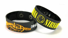 PANIC! AT THE DISCO NIRVANA DIN2 NEW! 2pcs(2x) Bracelet Wristband