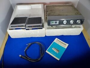 Vintage Panasonic car Under Dash STEREO 8 track tape PLAYER AM+FM MODEL CX-807SU