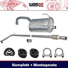 Komplette Auspuffanlage ab Kat Fiat Panda 1.1i & 1.2i 40KW & 44KW Auspuff