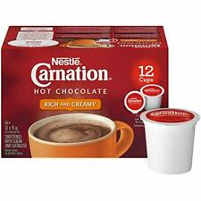 Nestle Carnation Hot Chocolate Keurig 12 K Cups Imported From Canada Pods