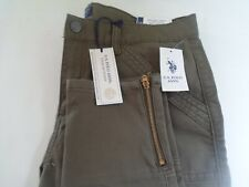 U.S. Polo Assn. GREEN Size 14 Premium Denim Regular Skinny Ankle Slim Fit Jeans