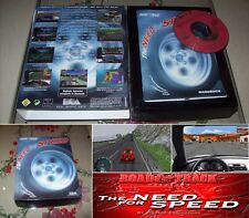 Need for speed 1994 PC coleccionista Big Box Road & Track!!!