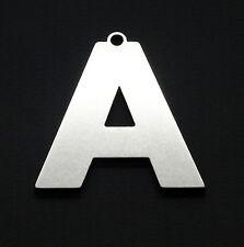 """A"" Letter keyring Schlüsselring porte-clés keychain Name gift keyfob"