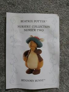 Alan Dart Beatrix Potter Benjamin Bunny Toy Knitting Pattern