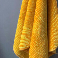 Vintage 1970s Yellow Martex Geometrix Colelction Hand Towel Mcm Textile Design