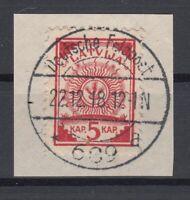 B2550/ GERMANY WWI EASTERN FRONT – LETTONIA MI # 2 I FELDPOST CANCEL