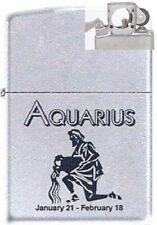 Zippo 9282 horoscope aquarius Lighter with PIPE INSERT PL