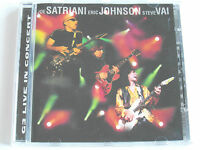 G3 Live In Concert - Satriani, Johnson & Vai (CD Album) Used Very Good
