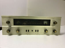Fisher 400 Stereo Tube Amp Receiver. Recapped.