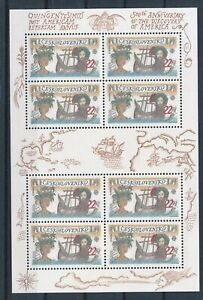 [G25845] Czechoslovakia Europa Colomb good sheet very fine MNH