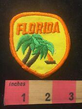 Vtg Florida Palm Tree & Sailboat Patch 87M7