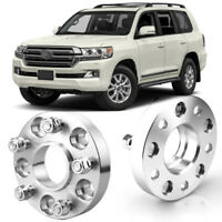 Wheel Spacers Centric Hub Adapters 5x5.9 110mm 14x1.5 For Toyota Land Cruiser