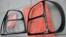 POLO 4 IV 6n GTI FANALE RETROVISORE design carbon-look tailcover