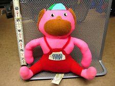 CEDAR POINT pink monkey 1970s amusement park vtg plush gorilla carnival toy OG