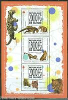 GUINEA 2013 WILD CATS OF THE WORLD  SHEET MINT NH