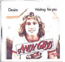 """ANDY GIBB DESIRE WAITING FOR YOU VINILE 45 GIRI 7"""" USED"""