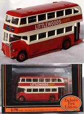 "Diecast 1:76 Leyland PD2 Dble Deck bus ""East Kent"" EFE MIB"