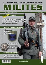 MILITES da n21 a n25 rivista militaria magazine WW2 helmet uniform badge medal