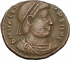 "VALENS ""Last True Roman"" 367AD Ancient Roman Coin Victory Cult  Angel  i50837"