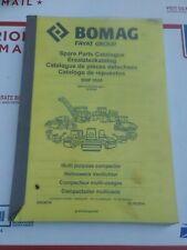 Bomag Bmp8500 Kubota Multi Purpose Compactor Parts Catalog Manual