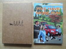 Ford Fiesta Publicidad Folleto Libro « cinco más divertido » - labybird interés