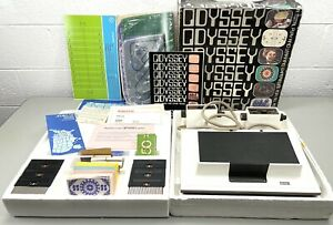 VINTAGE MAGNAVOX ODYSSEY Console CIB Untested With Exterior Shipping Box RARE