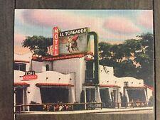 El Toreador Motel - San Ysidro, Ca. collectors postcard