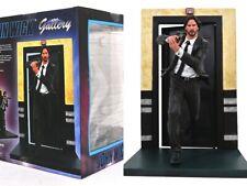 """John Wick Gallery 9"""" Diorama Figure Chapter 1 Keanu Reeves PVC New MIB Mint"""