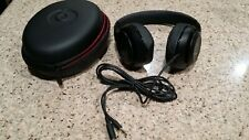Beats By dr Dre Studio 2.0 wired headphone Over Ear Matte Black color New .