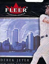 """20 DEREK JETER FLEER VINYL 14""""X16 BAGS NEW YORK SKYLINE SHOWS WORLD TRADE CENTER"""