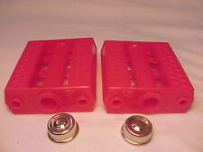 """Vintage Red 7/16"""" Tricycle Pedals Elgin Colson Murray Huffy Amf nos"""