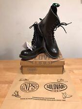 NPS SOLOVAIR Black 11 Eye Steel Toe Derby Boot! SizeUK12! New! Only £159.90!