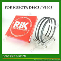 Riken Piston Ring STD 80mm for KUBOTA D1403 / V1903