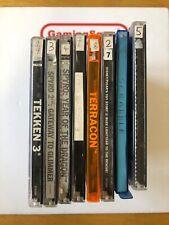 Bundle of 8 PS1 Games (Disc Only) in Thin Cases, Spyro 1 & 2, Crash 3, Tekken