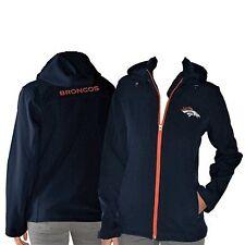 Broncos NFL Football Jacket Apparel Woman's Hood Softshell Coat New XXL 2XL