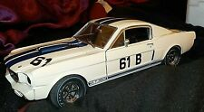 1/18 LANE EXACT DETAIL - '66 SHELBY R MODEL GT 350  FORD MUSTANG - JERRY TITUS'
