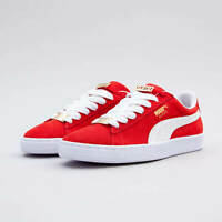 MEN'S PUMA SUEDE CLASSIC B-BOY FABULOUS RETRO RED TRAINERS OG DS LOW SNEAKERS SB