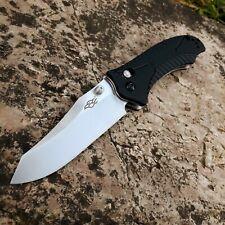 GANZO F710 Ambidextre couteau pliant lame acier inoxydable 440C poignée G10