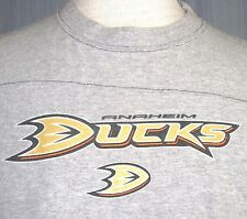 Anaheim Ducks Adult Medium Gray Jersey T-Shirt ( M NHL Hockey Champs Champions )