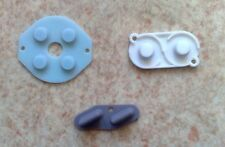 Rubber Conductive Buttons A-B, D-pad... for Game Boy Classic (GB) - Silicone
