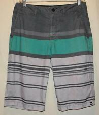 Quicksilver Amphibians Board Shorts, Size 30 Free Shipping! Beach Surf Swim Ski