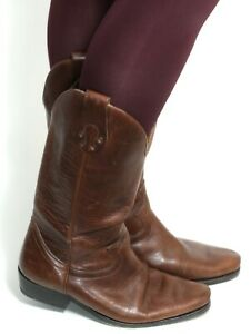 Cowboystiefel Damenstiefel Line Dance Catalan Style Leder Boots Piccadilly 41
