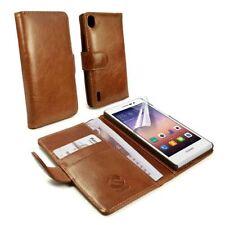 Étuis, housses et coques avec clip marrons pour téléphone mobile et assistant personnel (PDA) Huawei