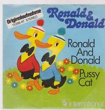 """7"""" Ronald & Donald Ronald And Donald / Pussy Cat 70`s Hansa"""