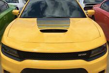 Daytona Power Bulge Hood Vinyl Graphic Decal Dodge Charger HC//392//Scat 2015 Up