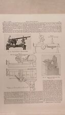 Forming Machine For Milling Cutters, Leeds, Etc: 1908 Engineering Magazine Print