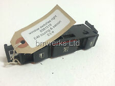 BMW E46 3 Series Touring & Saloon Window Switches Right 8381518