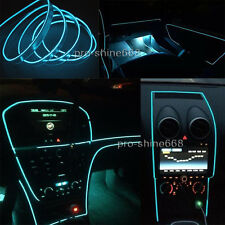 6.5Ft Ice Blue Cold light Neon Lamp EL Wire Atmosphere Fluorescent For Hyundai