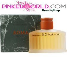 LAURA BIAGIOTTI ROMA UOMO EDT 125 ML NATURAL SPRAY VAPO Originale Senza Scatola