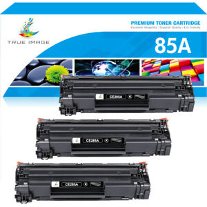 3Pack Toner Compatible for HP CE285A 85A LaserJet Pro P1102 P1102W M1132 M1212nf